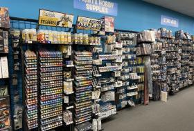 Showroom miniature game selection